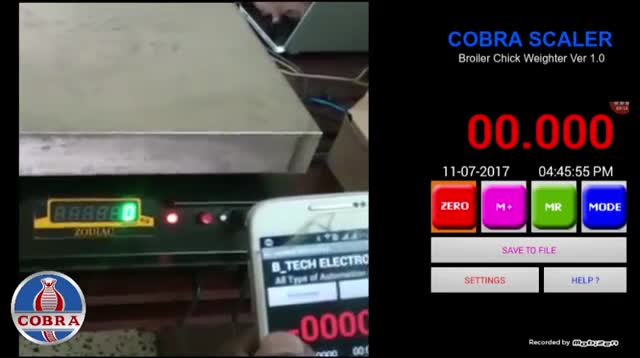 COBRA ANDROID SCALER